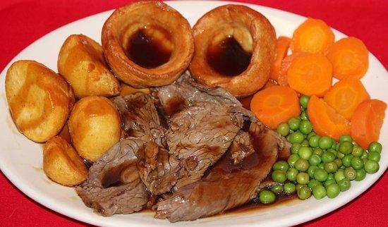 Hudson, ฟลอริด้า: Traditional Sunday Roast Beef Dinner