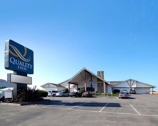 Ocean Shores, WA: Hotel front view