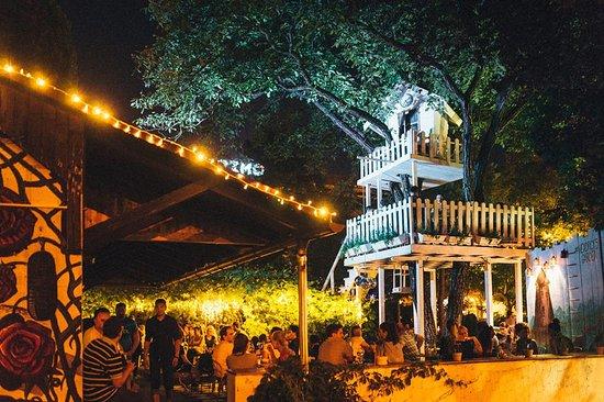 A most unusual garden fairytale @ night