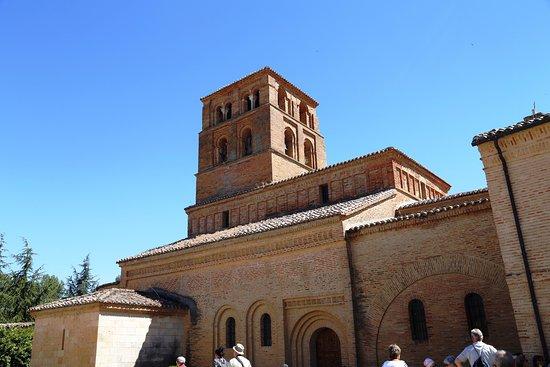 Sahagun, Spain: La iglesia del monasterio vista desde el norte