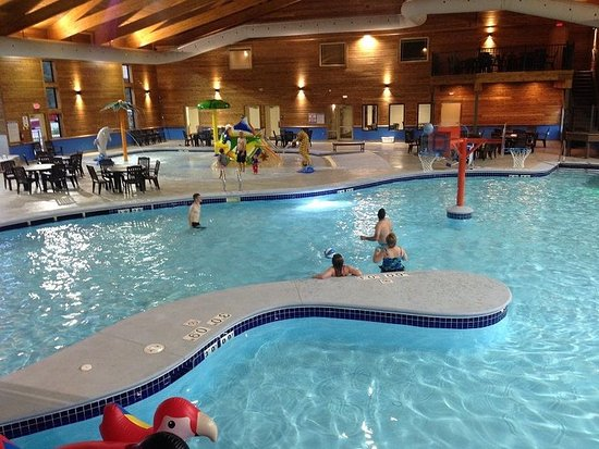 Ottertail, MN: Pool Area
