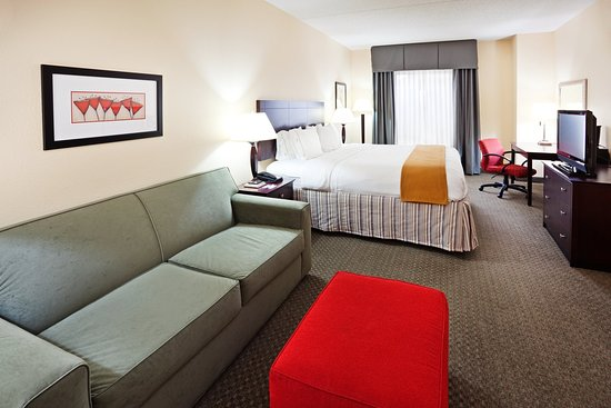 Holiday Inn Express Knoxville Strawberry Plains: King Bed Guest Room