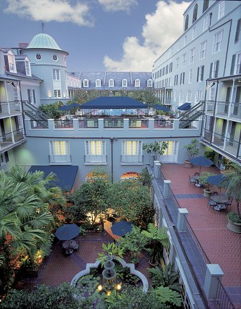 Royal Sonesta New Orleans: Courtyard