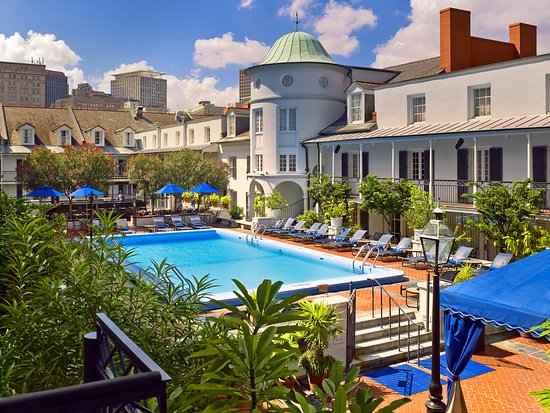 Royal Sonesta New Orleans: Pool during day