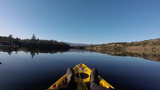 Patagonia Camp: Kayak en Laguna Preciosa