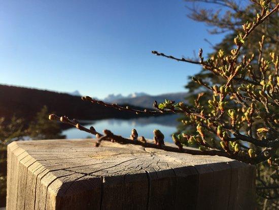 Patagonia Camp: desde la terraza