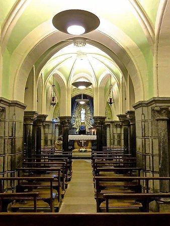 Crypte de la Basilique de l'Immaculee Conception.