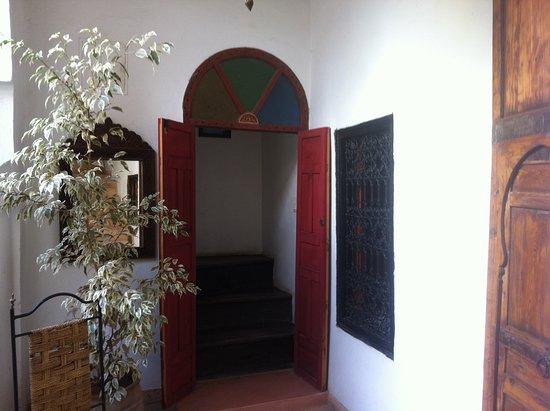 Riad Dar Nimbus: Entrée de ma chambre