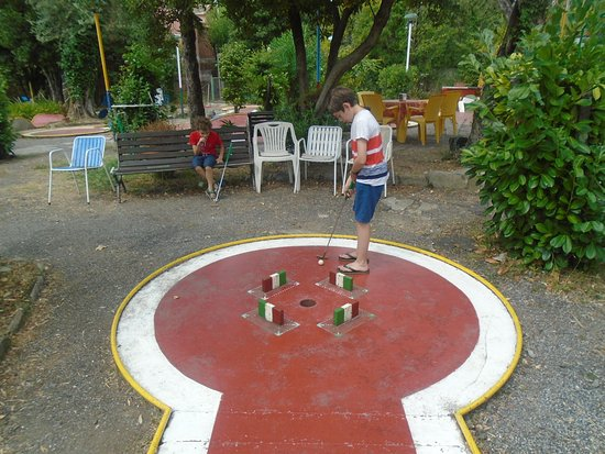 Minigolf Sport Team Rapallo : The public course
