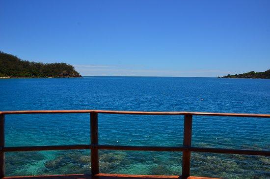 Likuliku Lagoon Resort: View from Overwater Bure