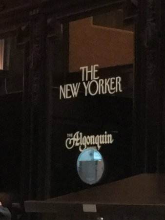 Algonquin Hotel: from the dinning room