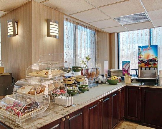 Quality Inn: VABreakfast Area