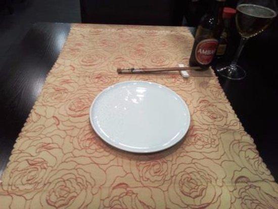 Sakura: Servicio mesa