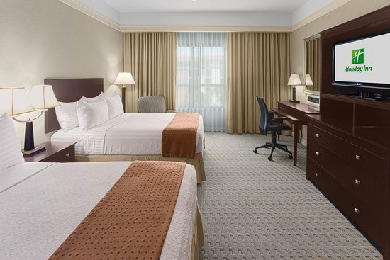 Holiday Inn Baton Rouge: Double Bed Guest Room