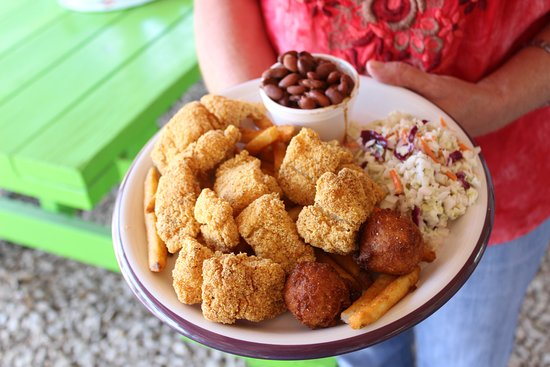 Ingram, TX: All you can eat catfish on Fridays