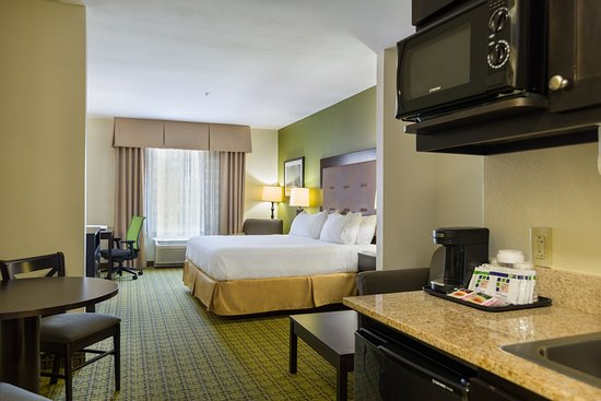 Holiday Inn Express Hotel & Suites Savannah-Midtown: King Bed Suite