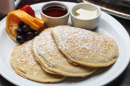 Gretna, LA: Pancakes served at the Holiday Inn New Orleans Westbank