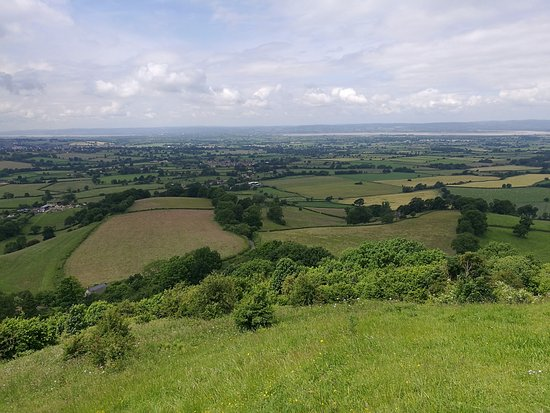 Nympsfield, UK: Great views of the Servern