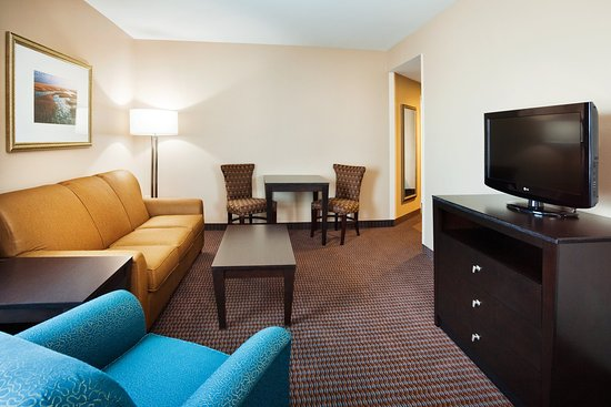 Holiday Inn Express Hotel & Suites Mt Pleasant-Charleston: Great Room of Presidential Suite
