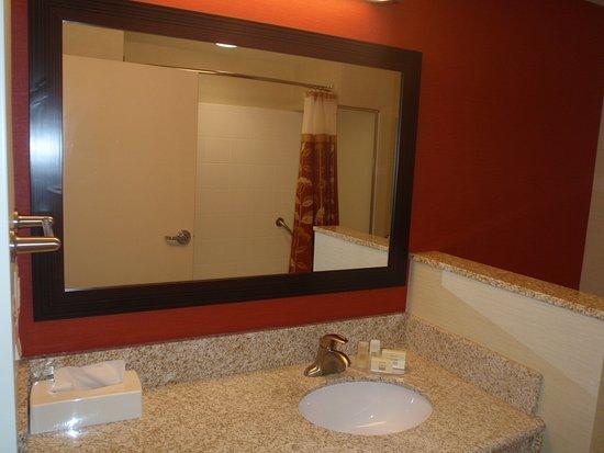 Courtyard Warner Robins: Guest Bathroom