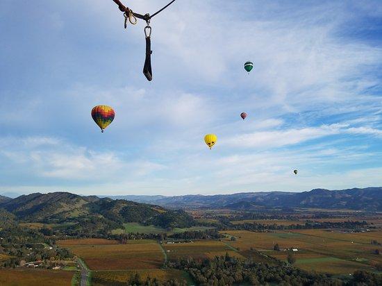 山谷热气球之旅照片