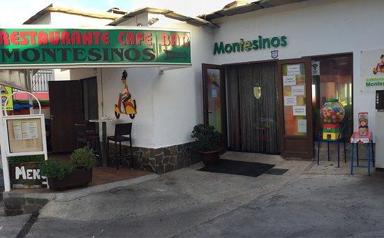 Laroles, Espanha: Restaurante Montesinos