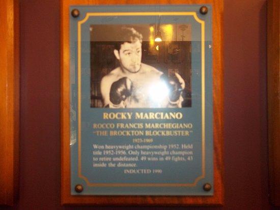 Canastota, NY: Rocky Marciano