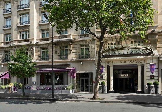 Paris Marriott Opera Ambassador Hotel: Entrance