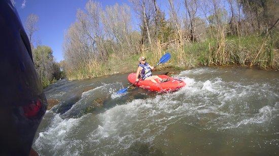 Cottonwood, Аризона: One of the three small class-2 rapids.