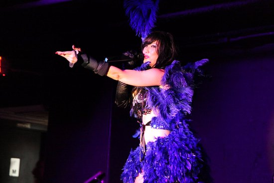 Live music, singers, burlesque, live band - Picture of The Cabaret