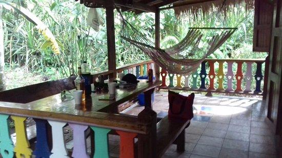 Hotel La Costa de Papito: Private terrace with hammock