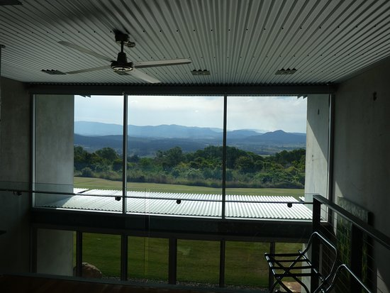 The Bunyip Scenic Rim Resort: View from bedroom