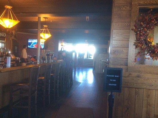 Minocqua, Ουισκόνσιν: entrance to restaurant level