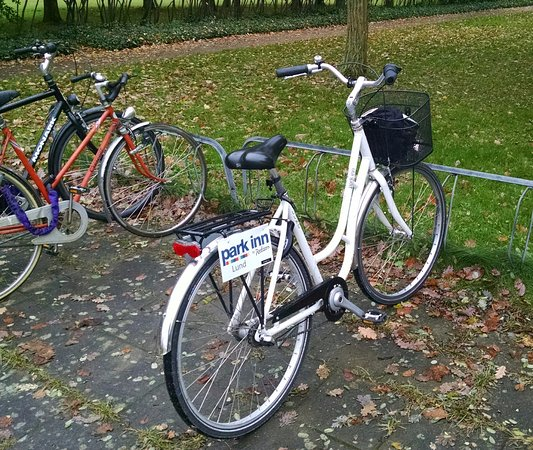 Lund, Suecia: Hotel bicycle