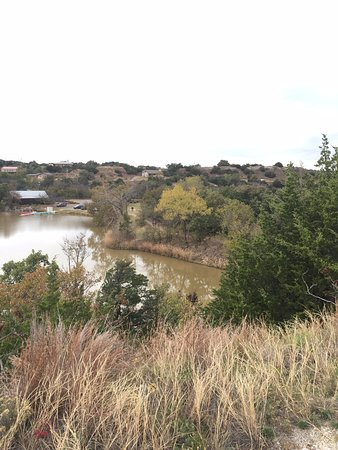 Watonga, OK: View of lake from hiking trail