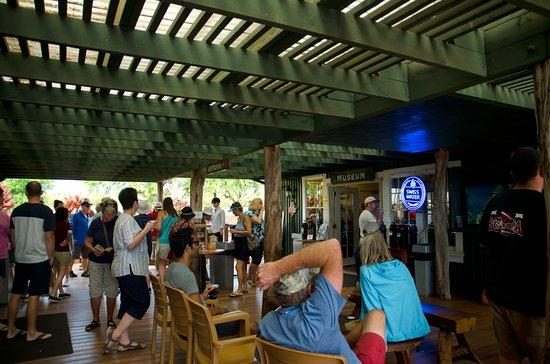 Kalaheo, Havaí: COFFEE TASTING AREA
