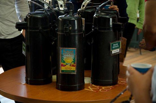 Kalaheo, Havaí: COFFEE TASTING