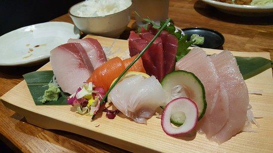Rowland Heights, Kalifornien: sashimi plate