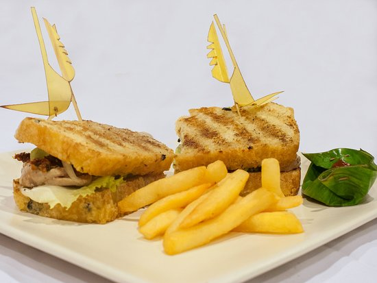 The Kampung Resort Ubud: Tuna Sandwich