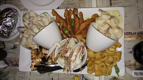 gulf restaurant the gulf sea food mix
