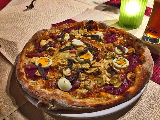 Ansfelden, Austria: Pizza mit Sonderwünschen