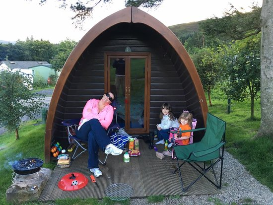Watermillock, UK: Happy Camping Pod family