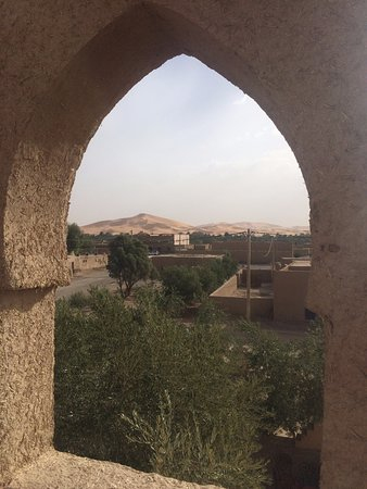Guest House Merzouga: Rooftop view!