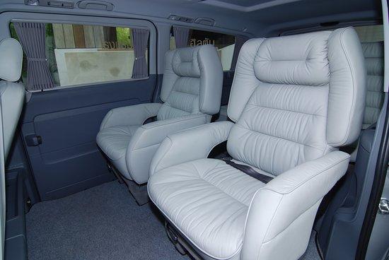 Mercedes Benz Vito interior - Bild von Limousine Express, Bangkok ...