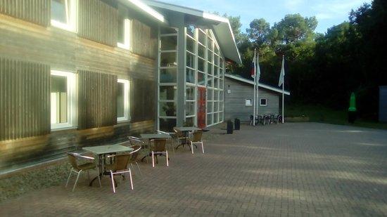 Wyspa Vlieland, Holandia: Voorkant hotel
