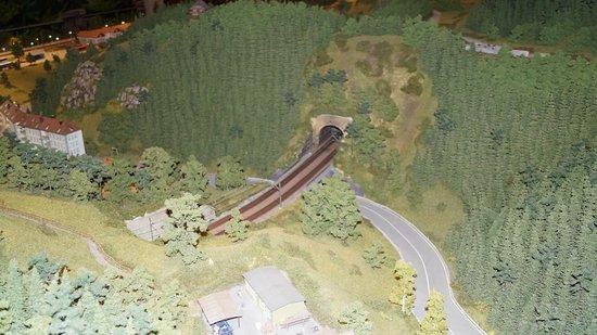 Hausach, Германия: Einer von vielen Tunneln der Schwarzwaldbahn