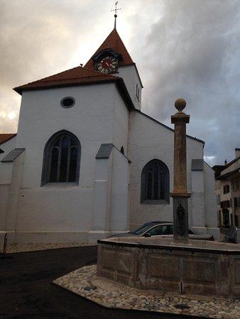 Eglise Saint-Jean Baptiste de Grandson