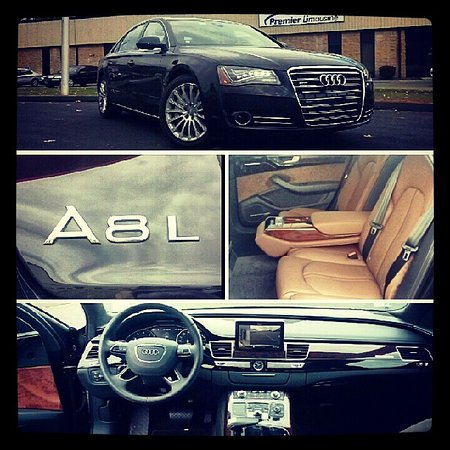 Berlin, CT: Audi A8L