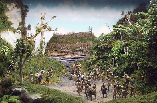 Hawera, New Zealand: Diorama
