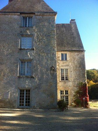 Sache, Fransa: vue de face